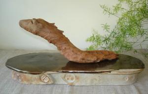 Alan-Gaillard-Irish-Pottery-Connemara-Stoneware-4000yr-old-bogwood-sculpture-ceramic-base-r