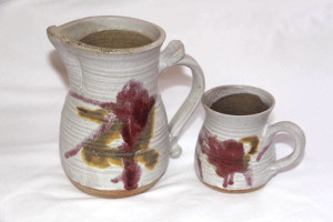 Alan-gaillard-irish-pottery-connemara-stoneware-copper-red-design
