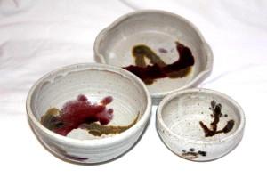 Alan-gaillard-irish-pottery-connemara-stoneware-standard-soup-sugar-bowls