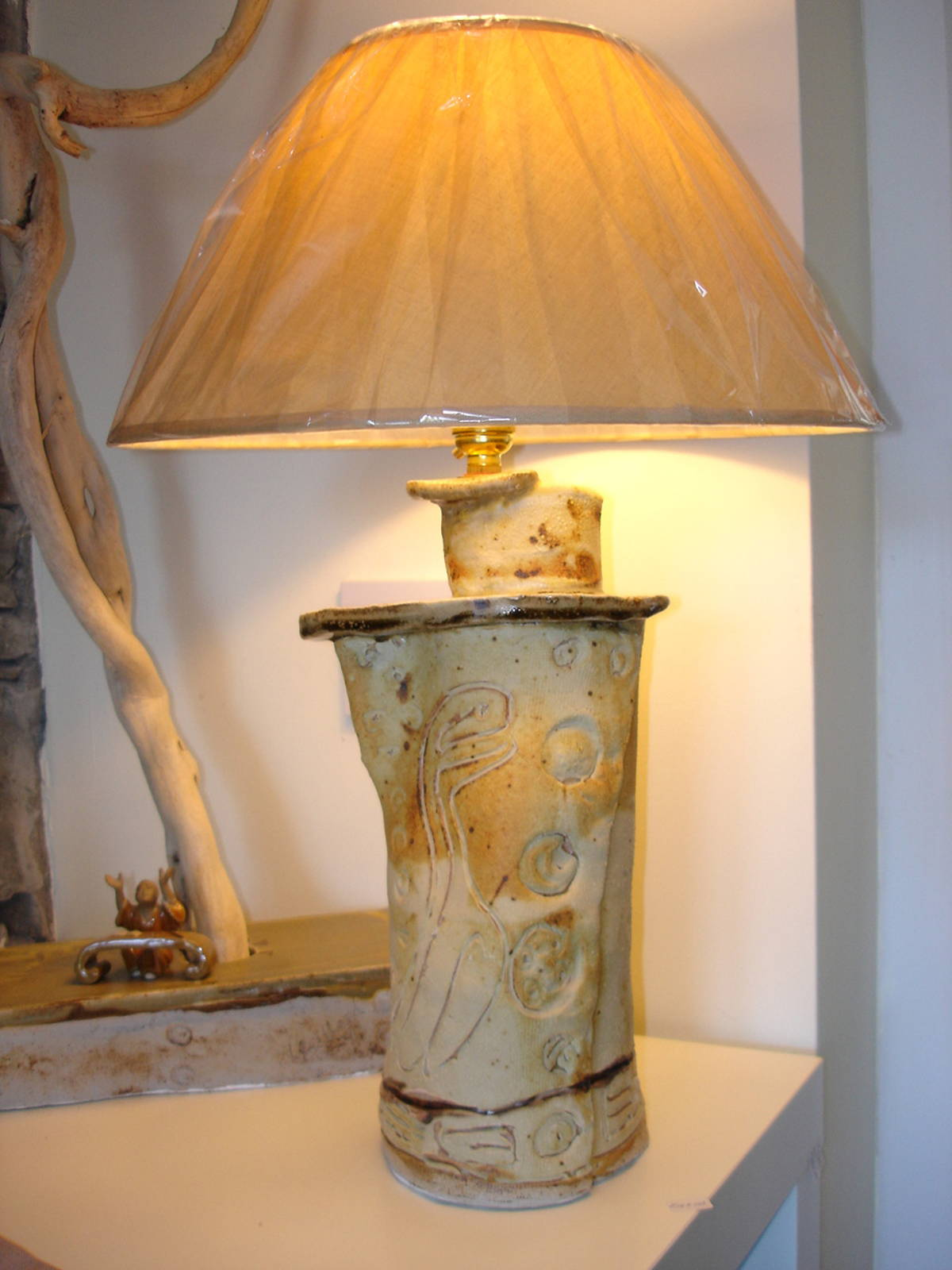 alan-gaillard-irish-pottery-connemara-stoneware-Lamp-Base-1