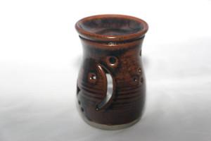 alan-gaillard-irish-pottery-connemara-stoneware-Scented oil heater lamp