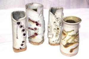 alan-gaillard-irish-pottery-connemara-stoneware-tall-vases