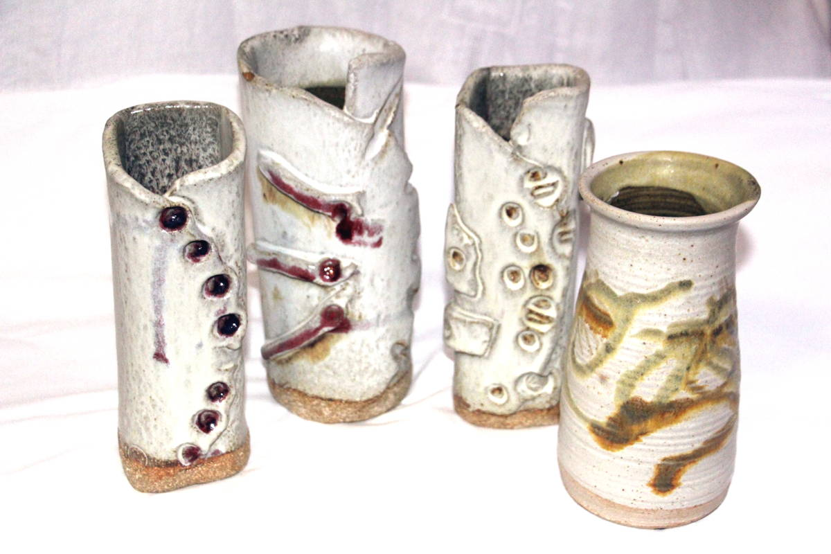 alan-gaillard-irish-pottery-connemara-stoneware-tall-vases