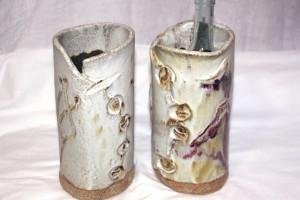 alan-gaillard-irish-pottery-connemara-stoneware-wine-coolers-vases